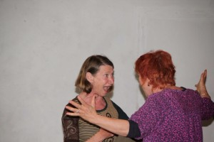 Travail d'improvisation Florence Cabane
